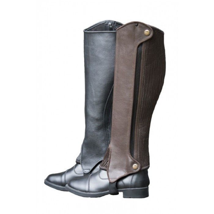 Royal Highness Deluxe Leather Half Chaps