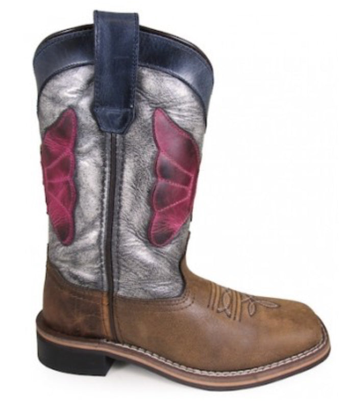 Child's Smoky Mountain Riley Square Toe Boots