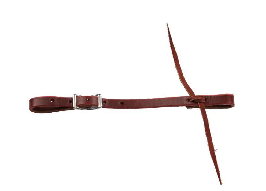 Berlin Leather Latigo Leather Connector Strap with Tie
