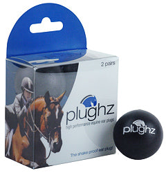 Plughz Horse Equine Ear Plugs, 2 Pair Box