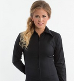 RHC Equestrian Zip Up Fitted Show Shirt