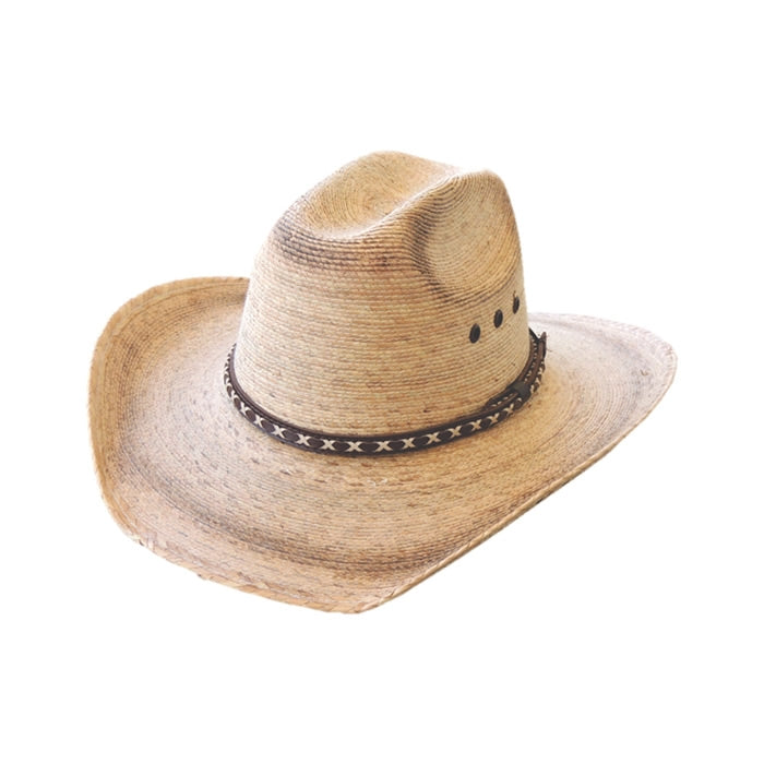 Dallas Hats Kids Vaq KJ Palm Straw Hat