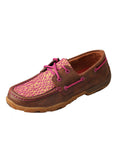 Women's Twisted X Driving Mocs- Brown / Purple