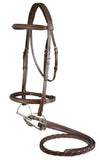 M. Toulouse Annice Bridle With Fancy Stitched Laced Reins