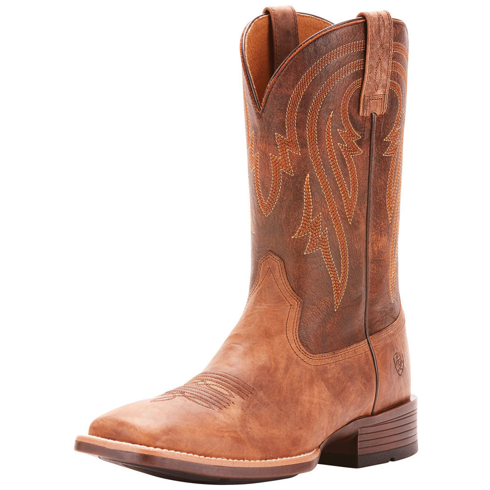 Men's Ariat Plano Wide Square Toe Boots