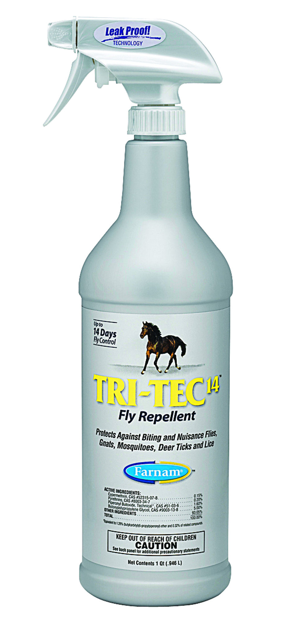 Tri-Tec 14 Fly Repellent Spray For Horses