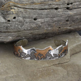 Montana Silversmiths Curio Finish Horses of a Different Color Cuff Bracelet