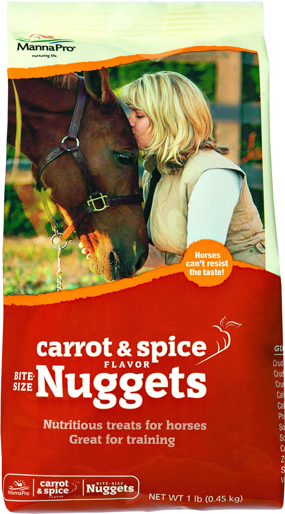 MannaPro Bite-Size Nuggets Horse Treats