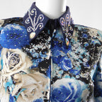 Western Collection's Blue Rose Rail Show Shirt