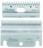 Oster Clipmaster Top And Bottom Blade Combo Set