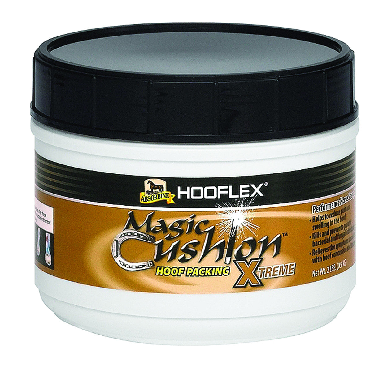 Absorbine Hooflex Magic Cushion xTreme Hoof Packing