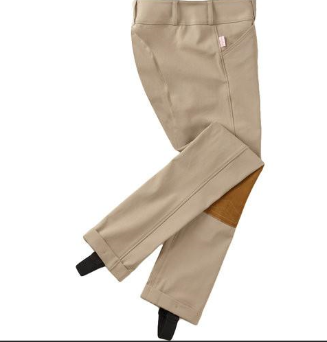 Girl's Tailored Sportsman Low Rise Side Zip Riding Jodhpurs