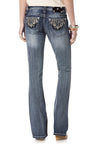 Cosmic Dust Relaxed Boot Cut Jeans
