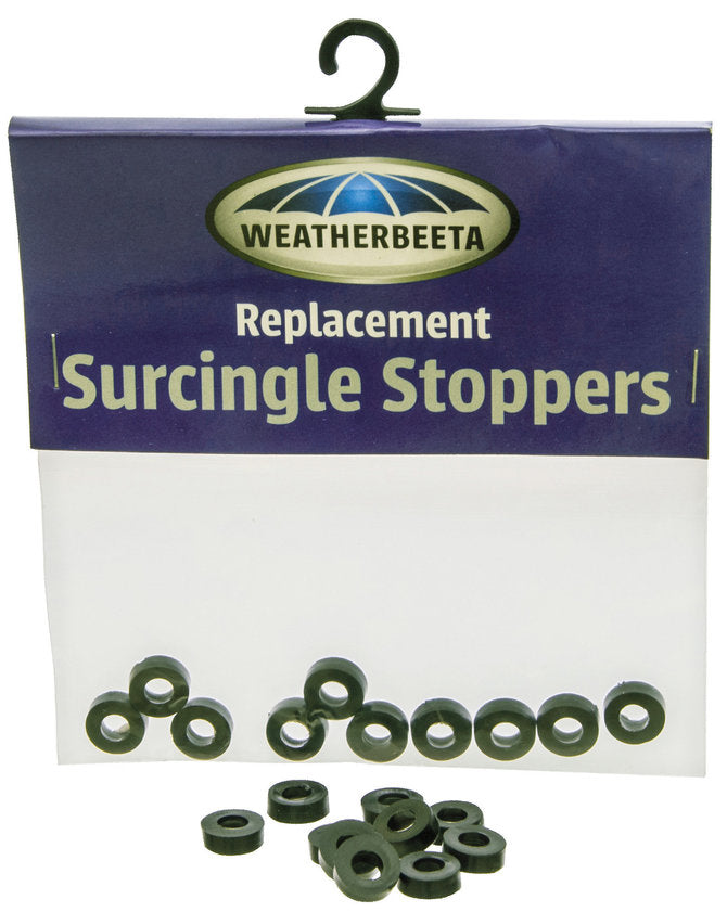 Weatherbeeta Rubber Surcingle Stoppers 10 Pack
