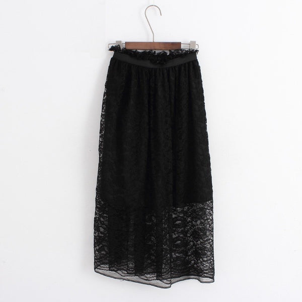 Embroidery Long Skirt