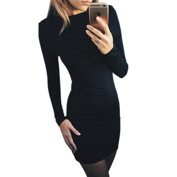 Autumn Bodycon Dress