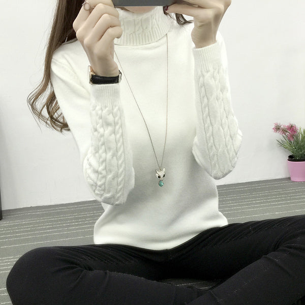 Thick Knitted Pullover