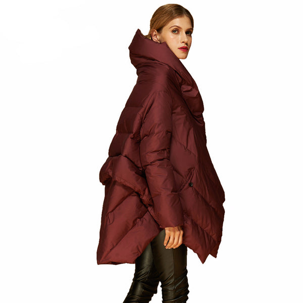 2017 Fashion - Edgy Bat Hooded Coat