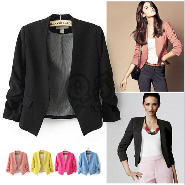 Candy Color  Blazer - ELEGANTe Webshop