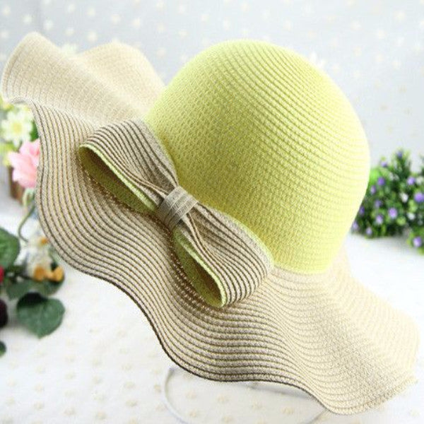 2017 Fashion -  Wave Straw Hat - ELEGANTe Webshop