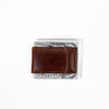 Image of Boconi - Bryant RFID Magnetic Money Clip in Antiqued Mahogany