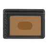 Image of Boconi - Tyler Tumbled RFID Weekender ID Card Case in Black