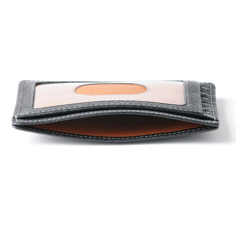 Boconi - Tyler Tumbled RFID Weekender ID Card Case in Black