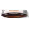 Image of Boconi - Tyler Tumbled RFID Weekender ID Card Case in Coffee