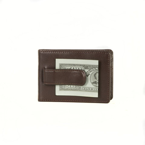 Boconi - Collins Calf Two Fold Money Clip in Espresso