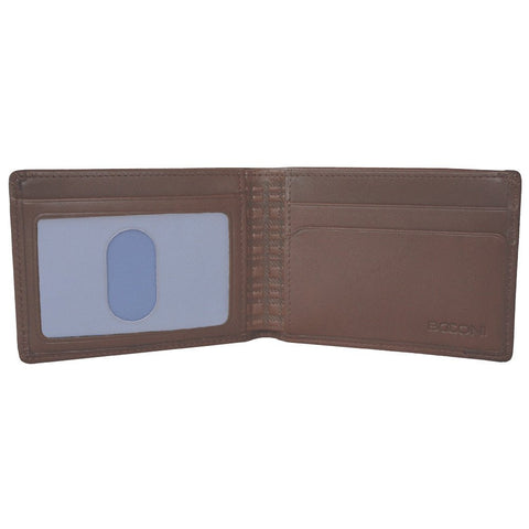 Boconi - Collins Calf Rock Solid RFID Slimster in Espresso