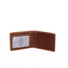 Image of Boconi - Bryant RFID Slimster in Antiqued Mahogany