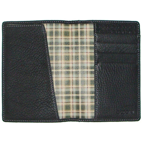 Boconi - Tyler Tumbled RFID Passport Case in Black