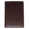 Image of Boconi - Tyler Tumbled RFID Passport Case in Coffee