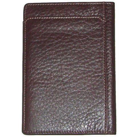 Boconi - Tyler Tumbled RFID Passport Case in Coffee