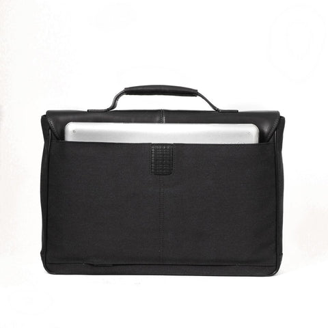 Boconi - Bryant LTE Broker's Bag in Black & Bleu