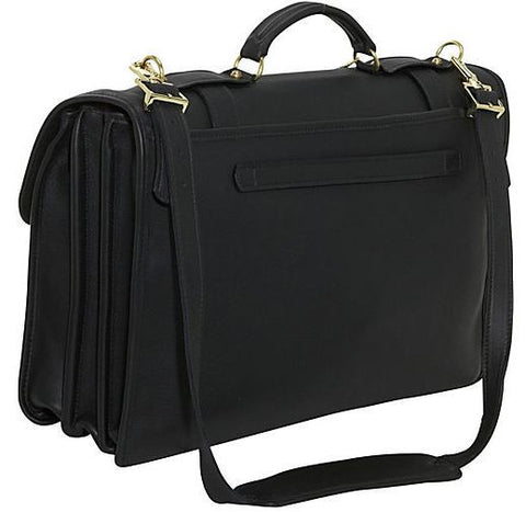 Jack Georges - University Oversized Triple Gusset Flap Over w/ Buckle Straps