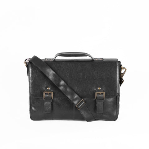 Boconi - Becker Flap Dispatch in Black