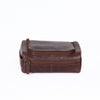 Image of Boconi - Becker Zip Around Travel Kit in Whiskey