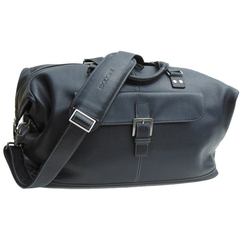 Boconi - Tyler Tumbled Cargo Duffle in Black