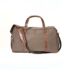 Image of Boconi - Bryant LTE Getaway Duffle in Antique Mahogany and Heather Brown
