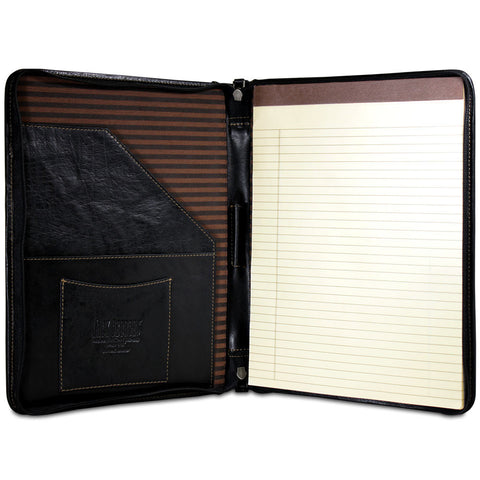 Jack Georges Voyager Letter Size Zip Around Writing Pad Cover