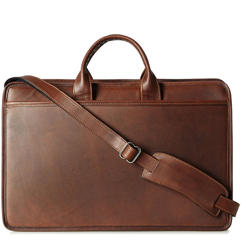 Jack Georges - Platinum Special Edition Double Gusset Top Zip Briefcase