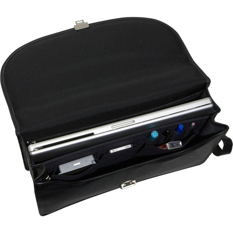 Jack Georges Platinum Special Edition Double Gusset Flap Over Briefcase
