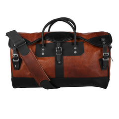 Image of Duluth Bison Leather Sportsman's Duffel