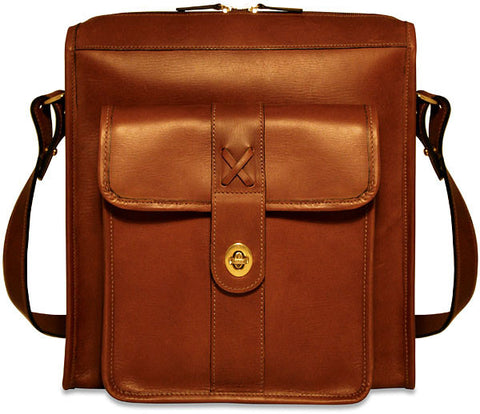 Jack Georges Belmont Collection North/South Messenger Bag