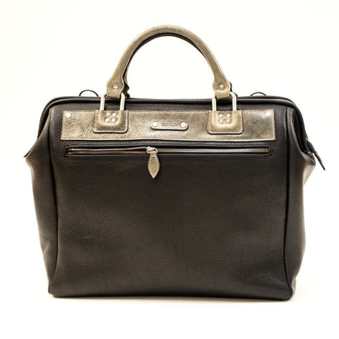 Conrad Men's The Gent Briefcase (Black)