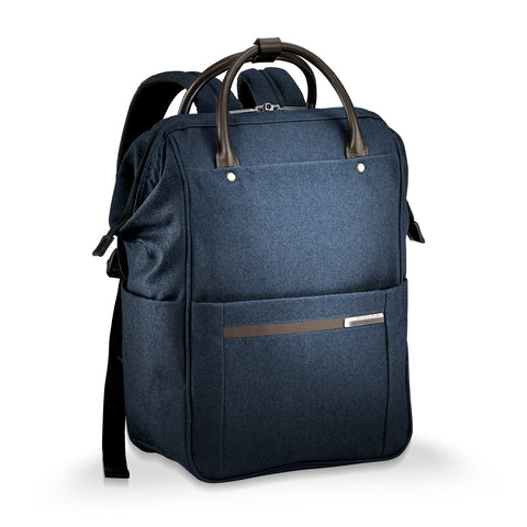 Briggs and Riley - Kinzie Street Framed Wide-mouth Backpack