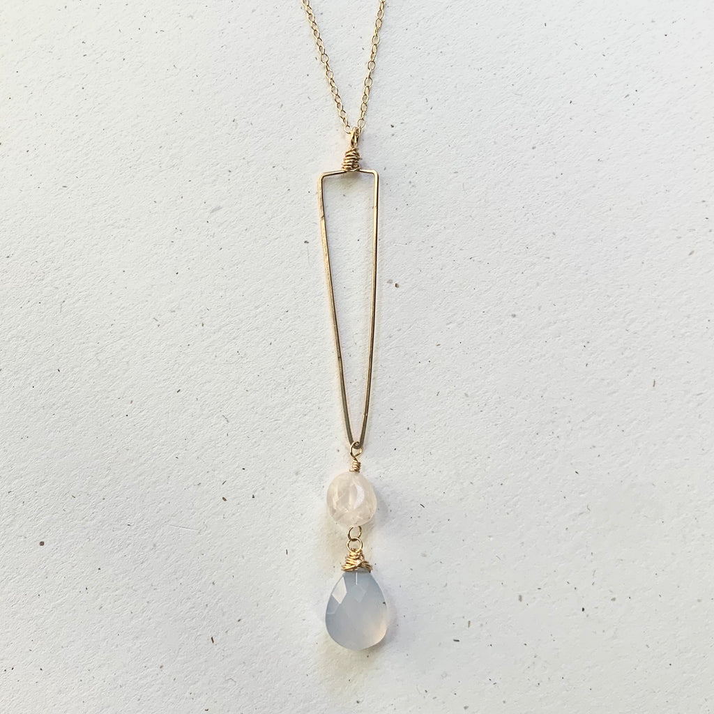 Tip Toe necklace