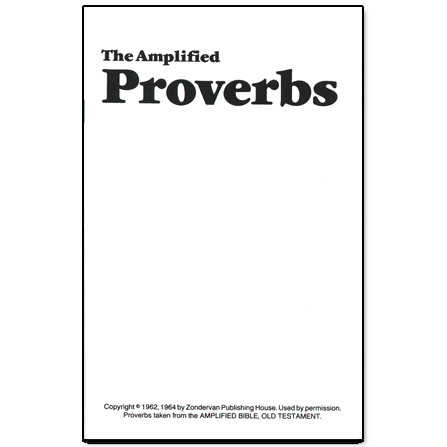 Amplified Proverbs