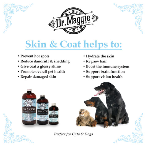 Dr. Maggie's Skin and Coat Supplement for Dogs and Cats at Canadian Pet Connection